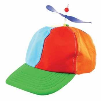 Foute 2 clown party kleding propeller petjes