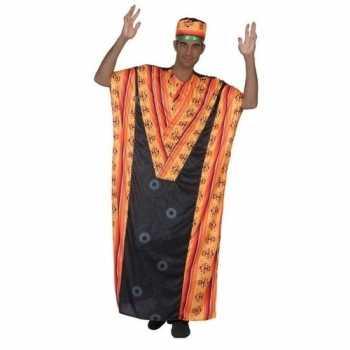 Foute afrikaanse kaftan party kleding voor heren