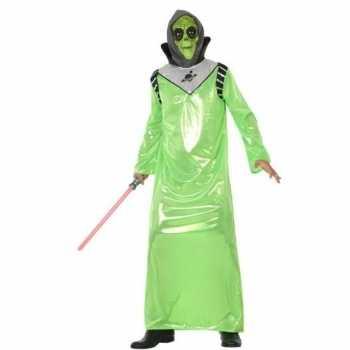 Foute alien party kleding voor volwassenen