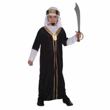 Foute arabieren party kleding inclusief hoofddoek voor kinderen