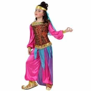 Foute arabische buikdanseres suheda party kleding voor meisjes