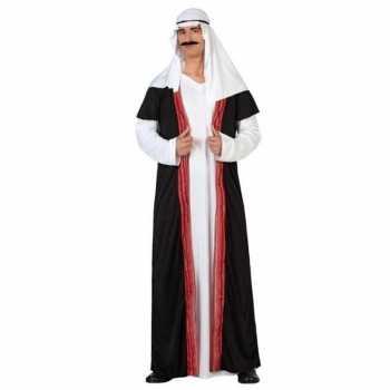 Foute arabische sjeik 1001 nacht party kleding/gewaad voor heren