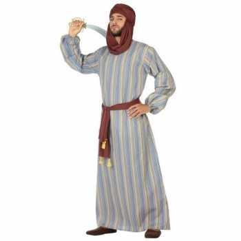 Foute arabische strijder ali party kleding/gewaad voor heren