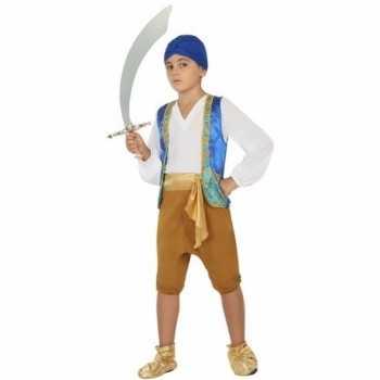 Foute arabische strijder anas party kleding voor jongens