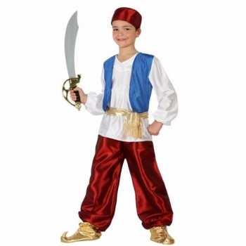 Foute arabische strijder badir party kleding voor jongens