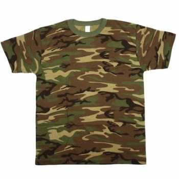 Foute army leger camouflage t-shirt korte mouwen voor heren party