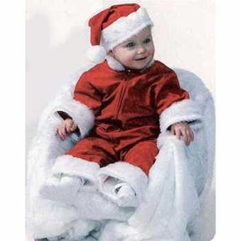 Foute baby kerst party kleding