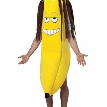 Foute banaan party kleding rasta