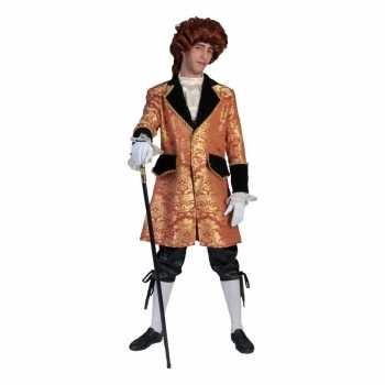 Foute barok party kleding voor heren zwart/goud