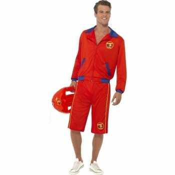 Foute baywatch party kleding voor heren