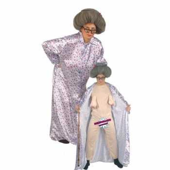 Foute bejaarde vrouw party kleding 10060639