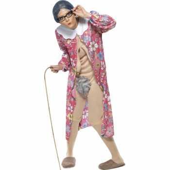 Foute bejaarde vrouw party kleding