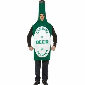 Foute bierfles party kleding 10045726