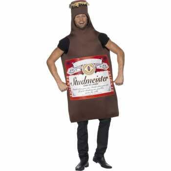 Foute bierfles party kleding