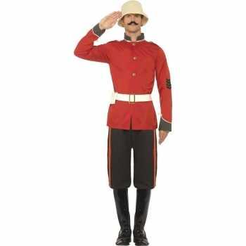 Foute boerenoorlog soldaat party kleding voor heren