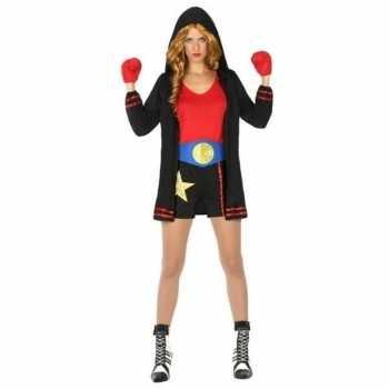 Foute bokser pak/party kleding voor dames