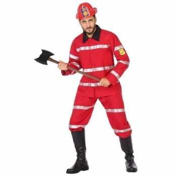 Foute brandweerman party kleding voor heren