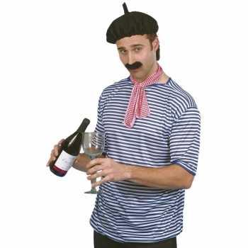 Foute bretonse visser party kleding