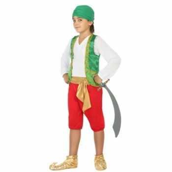 Foute carnaval arabiertje party kleding jongens