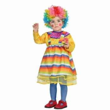 Foute carnaval clowns party kleding peuters