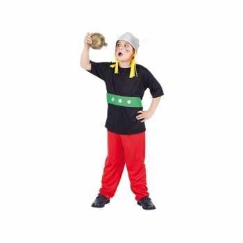 Foute carnaval gallier party kleding voor kinderen 3 delig
