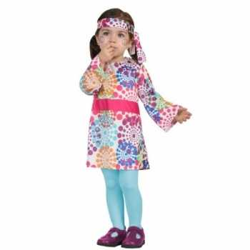 Foute carnaval hippies party kleding peuters