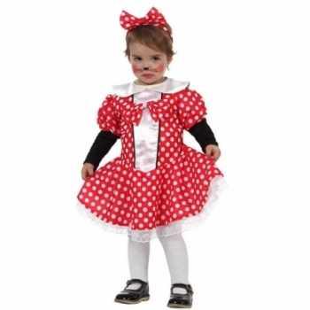 Foute carnaval muizen meisje party kleding peuters