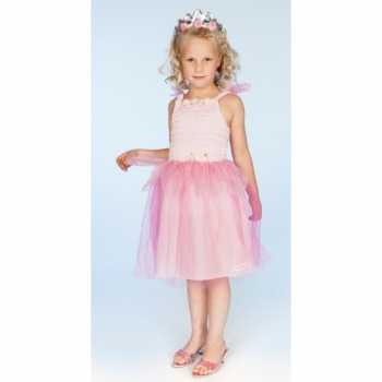 Foute carnaval party kleding prinses roze meisjes