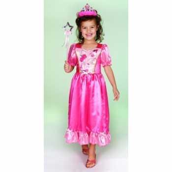 Foute carnaval party kleding prinsessenjurk roze