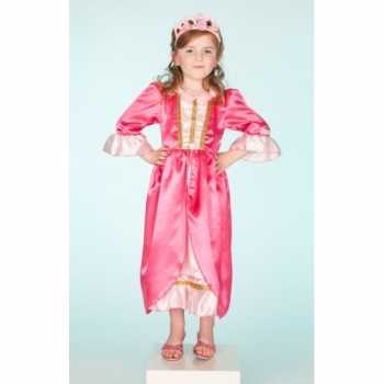 Foute carnaval party kleding roze jurk voor meisjes