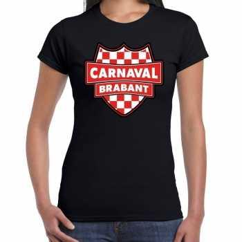 Foute carnaval t shirt brabant zwart voor voor dames party