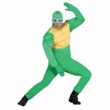 Foute carnavals party kleding ninja voor heren