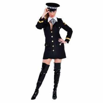 Foute carnavals party kleding politie agente jurkje
