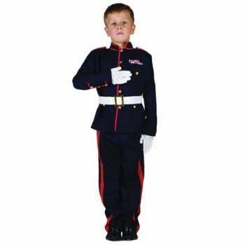 Foute ceremonieel soldaten party kleding voor jongens