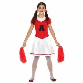 Foute cheerleader jurk/jurkje party kleding voor meisjes