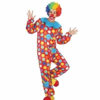 Foute clown pak/party kleding voor heren