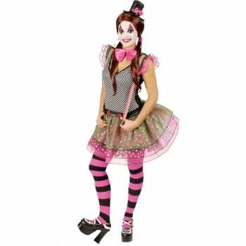 Foute clown party kleding voor dames