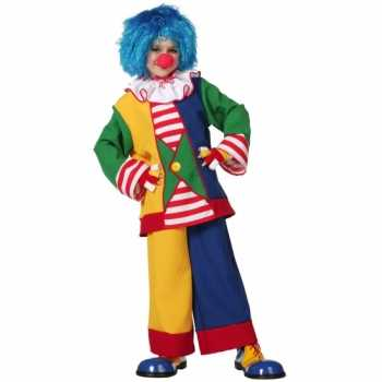 Foute clown party kleding voor kinderen