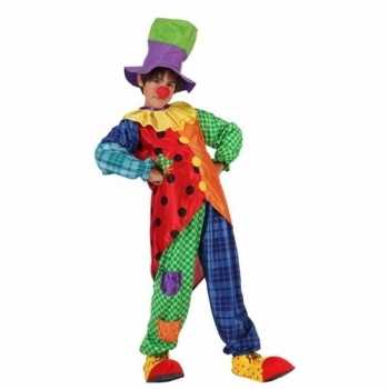Foute clown stitches party kleding voor jongens