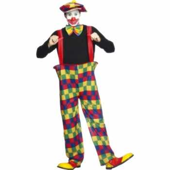 Foute clowns party kleding volwassenen