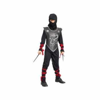 Foute compeet ninja party kleding voor kinderen