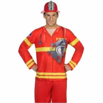 Foute compleet brandweer party kleding voor heren