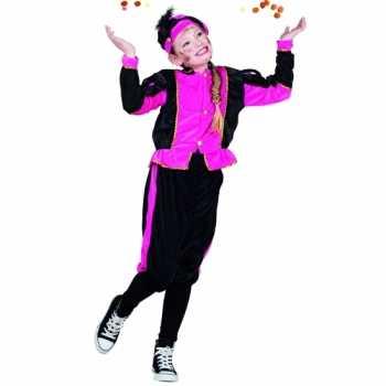 Foute compleet fuchsia pieten party kleding voor meisjes