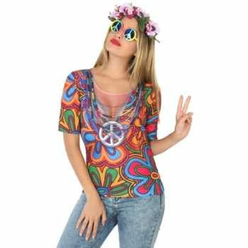 Foute compleet hippie party kleding voor dames