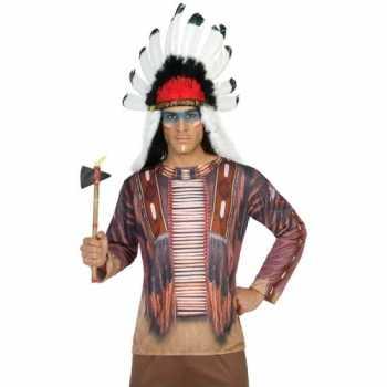 Foute compleet indiaan party kleding voor heren