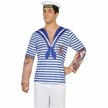 Foute compleet matroos party kleding voor heren