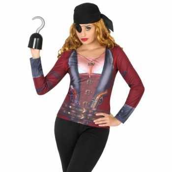 Foute compleet piraat party kleding voor dames
