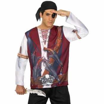 Foute compleet piraat party kleding voor heren