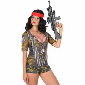 Foute compleet soldaat party kleding voor dames