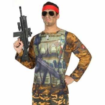Foute compleet soldaat party kleding voor heren